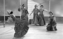 "extrait du ballet de Martha Graham ""Appalachian Spring"""