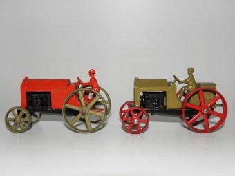 Tootsietoys Star tracteur versions agricole et militaire
