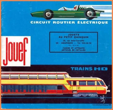 """catalogue Jouef provenant du magasin """"Au petit Quinquin"""""""