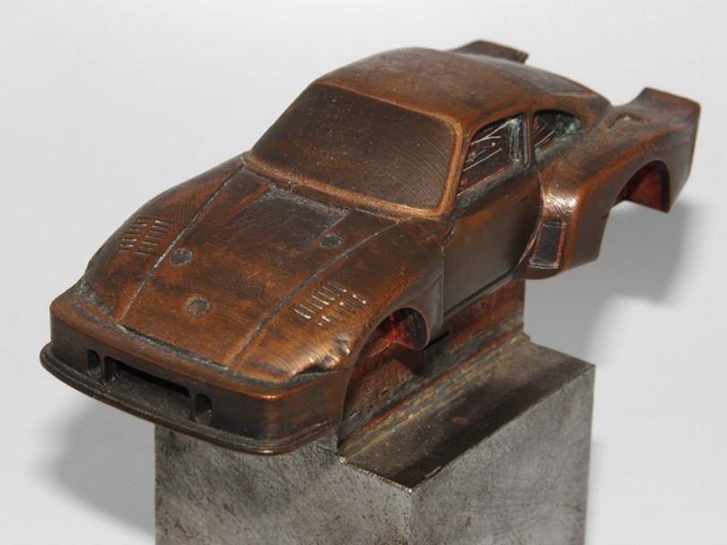 Champion prototype bronze Porsche 935 1976