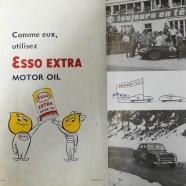 catalogue Esso publicitaire avec palmarès 1956 de Jaguar à la 403 !!!