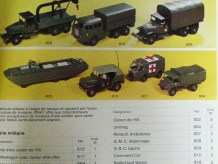 Dinky Toys Berliet T6 sur le catalogue général de 1975