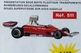 Safir Champion publicité pour la Ferrari 312T