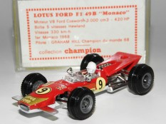 Safir Champion Lotus 49E version GP Monaco 1968