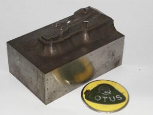 emprunte d'enfonçage de la Lotus 72 de Safir Champion (jamais réalisée)