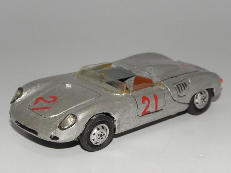 RD Marmande Porsche 1500 barquette RSK Avus J.Behra 1959