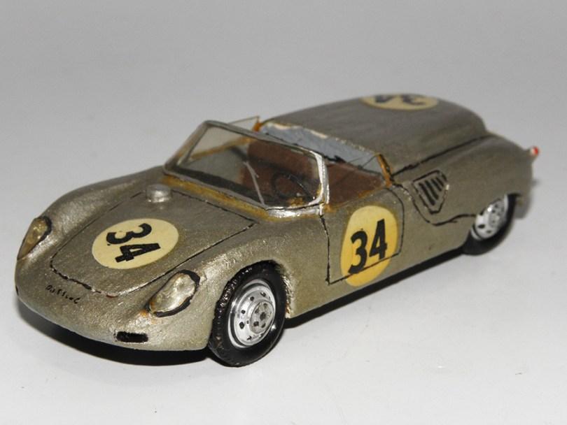 RD Marmande Porsche RS 61 barquette Le Mans 1961