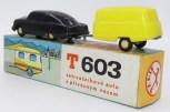 Igra Tatra 603 avec caravane