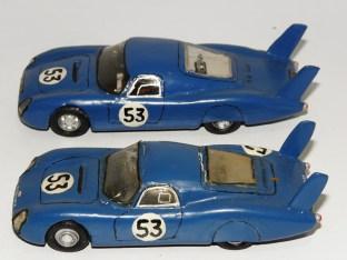RD Marmande CD Peugeot Le Mans 1967 2 interprétations