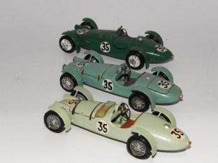 RD Marmande 3 HRG Le Mans 1949 trois interprétations