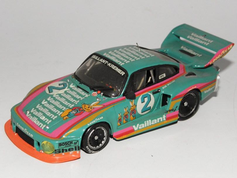 Record Porsche Kremer Vaillant Bob Wollek 1978