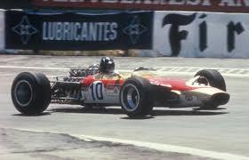Espagne 1968 Lotus 49 E Graham Hill