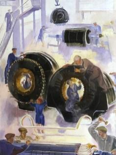 "Viatcheslav Pakouline ""Carter de turboréacteur"" 1931"