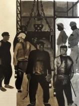 "Alexandre Deïneka ""Avant la descente dans la mine"" 1924"
