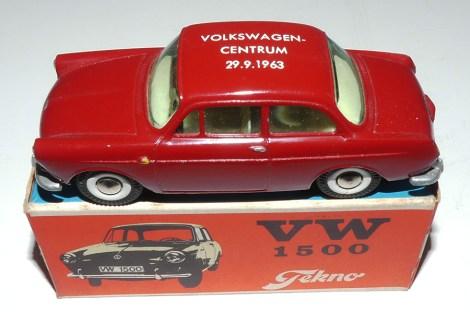 """Tekno Volkswagen 1500 """"Volkswagen Centrum Stockholm 1963"""""""