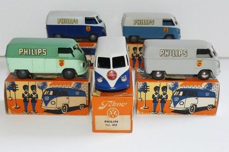 """Tekno Volkswagen fourgon """"Philips"""""""