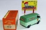 """Minialuxe panneau""""Philips"""" et Volkswagen fourgon """"Philips"""""""