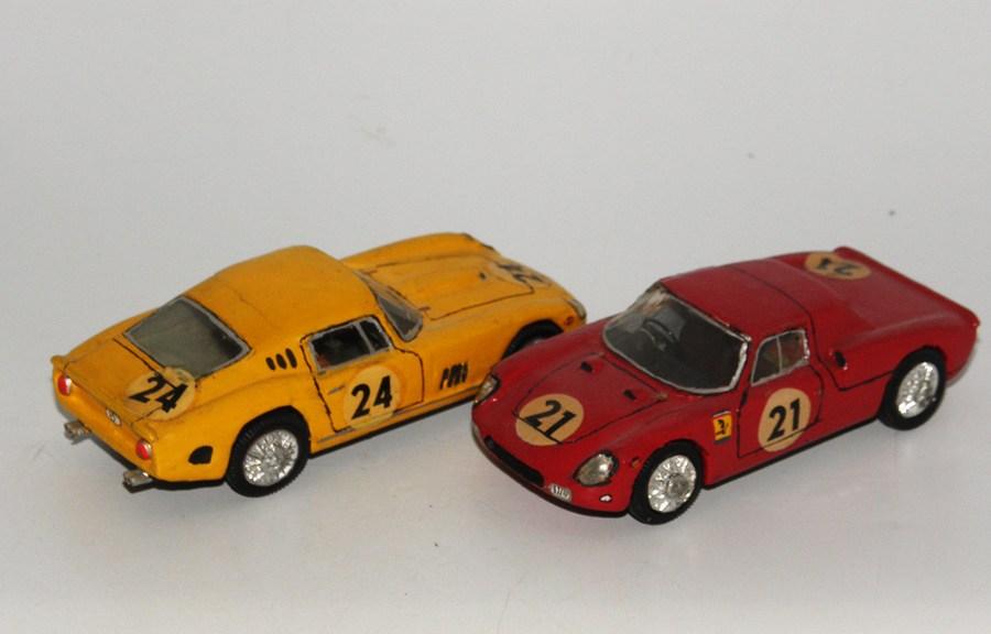 RD Marmande Ferrari 250 LM et Ferrari 275GTB Le mans 1965