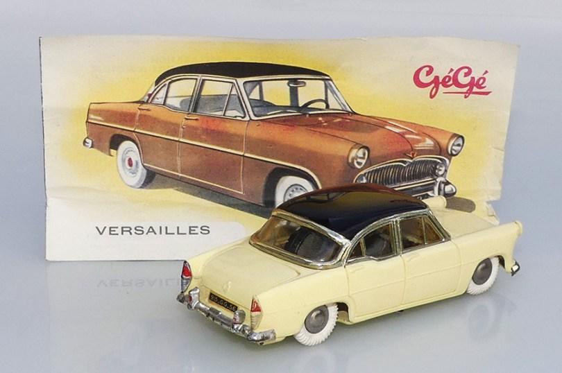 """Gégé Simca Versailles avec sa fiche """"carte grise"""""""