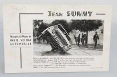 """Jean Sunny : """"alors, c'est très simple..."""" le plus dur est de rester sur deux roues et ne pas finir dans le mûr !"""
