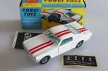 """Corgi Toys la Ford Mustang offerte qui était dans le """"tube"""""""