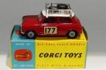 """Corgi Toys BMC Mini Cooper """"S"""" Monte Carlo 1967"""