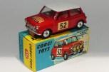"""Corgi Toys BMC Mini Cooper """"S"""" Monte Carlo 1965"""