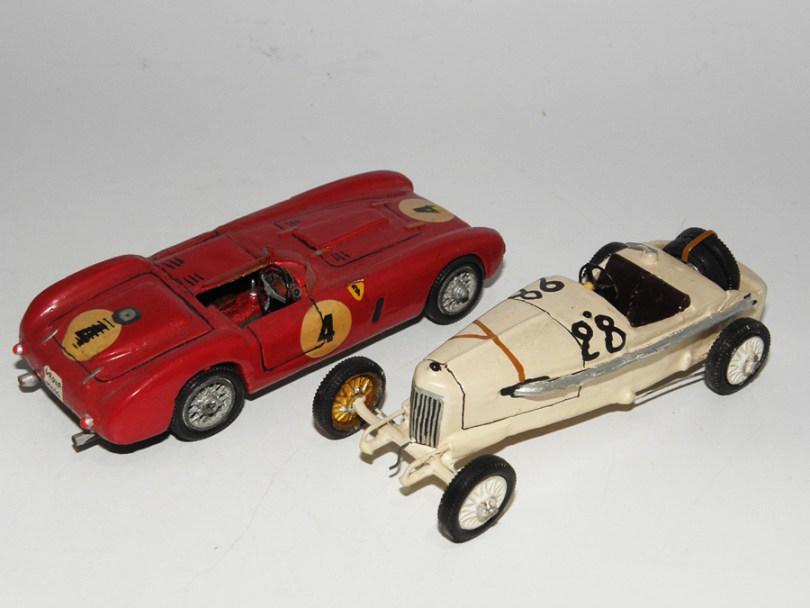 RD Marmande Mercedes Benz 4,5L 1er GP ACF 1914 et Ferrari 375 plus 1954 Clin d'oeil aux deux premières John Day !