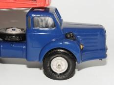 Norev Berliet TBO tracteur semi remorque porte autos (avec filtre à air)