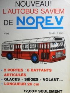 Norev Saviem SC10U affichette