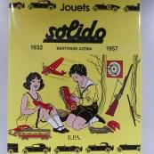 livre Jouets Solido de Bertrand Azéma auquel nous avons participé