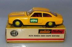 Solido Buby Alfa Romeo 2600 Bertone compétition