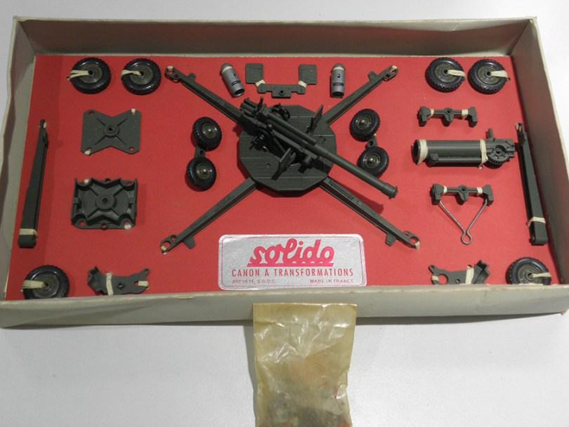 """Solido coffret de canon """"Artillerie A"""""""