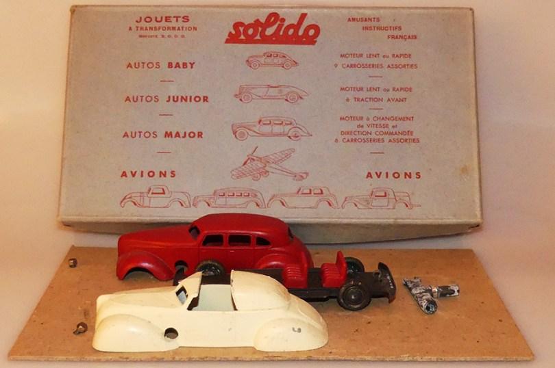 Solido coffret Junior 3 1942