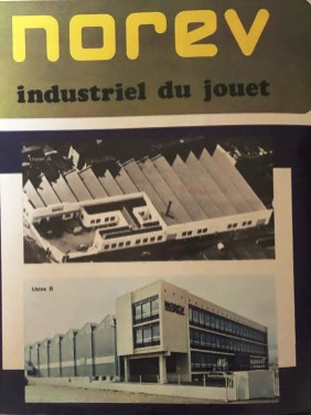 Norev les deux usines