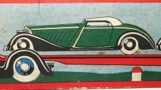 boîte du DC Panhard tracteur semi remorque porte autos