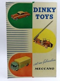 Dinky Toys : les panneaux carton quelle merveille !