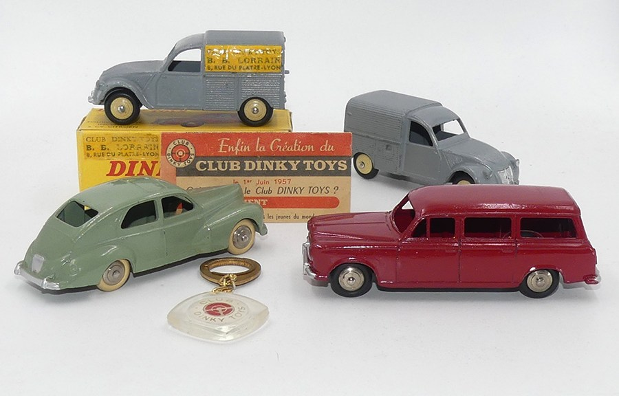 Dinky Toys : Claude Wagner vous explique tout sur ces 4 modèles avec détails et précisions