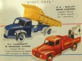 Dinky Toys catalogue avec le 34 A Berliet GLR