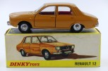 "Dinky Toys France Renault R12 couleur ""caramel"""