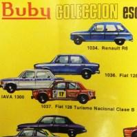Buby catalogue avec Renault 6 IKA