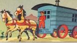 """Minialuxe détail de la boîte """" roulotte du cirque"""""""