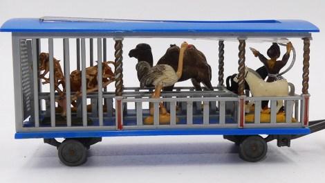 Siku roulotte du cirque (cages avec animaux)