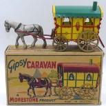 """Morestone roulotte hippomobile de type """"Gipsy"""""""