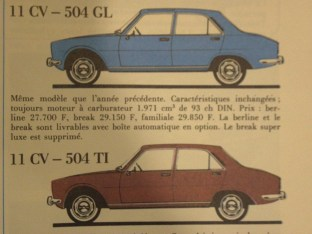 catalogue Peugeot