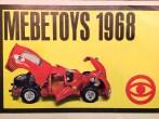 Mebetoys Ferrari 330P4 version vainqueur aux 24 heures de Daytona 1967 (couverture de catalogue)