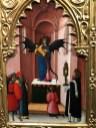collection Alana : Antonio Vivarini Saint Pierre martyr exorcisant un démon ayant pris les traits d'une vierge à l'enfant
