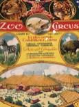 "affiche cirque ""Zoo circus"""