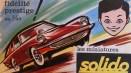 catalogue Solido : couverture avec dessin de Jean Blanche