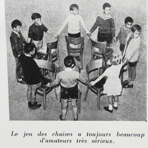 """Actualités Meccano: jeu des chaises lors de la réunion du club du """"BB Lorrain"""""""